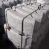opornik granitowy w łuku