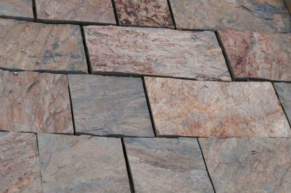 Kamień ścieżkowy cięty czterostronnie brązowy