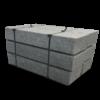 stopnie granitowe o wysokości 15 cm