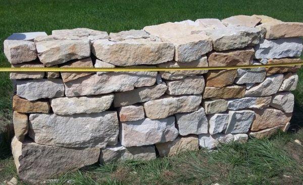 kamień ogrodowy z piaskowca nieregularny