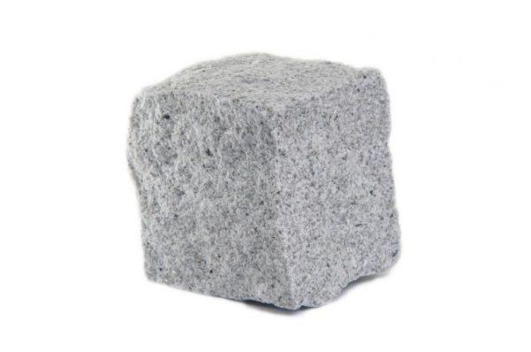kostka granitowa drobnoziarnista jasnoszara